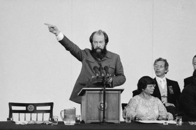 Solženicynas Kembridže. 1978m.